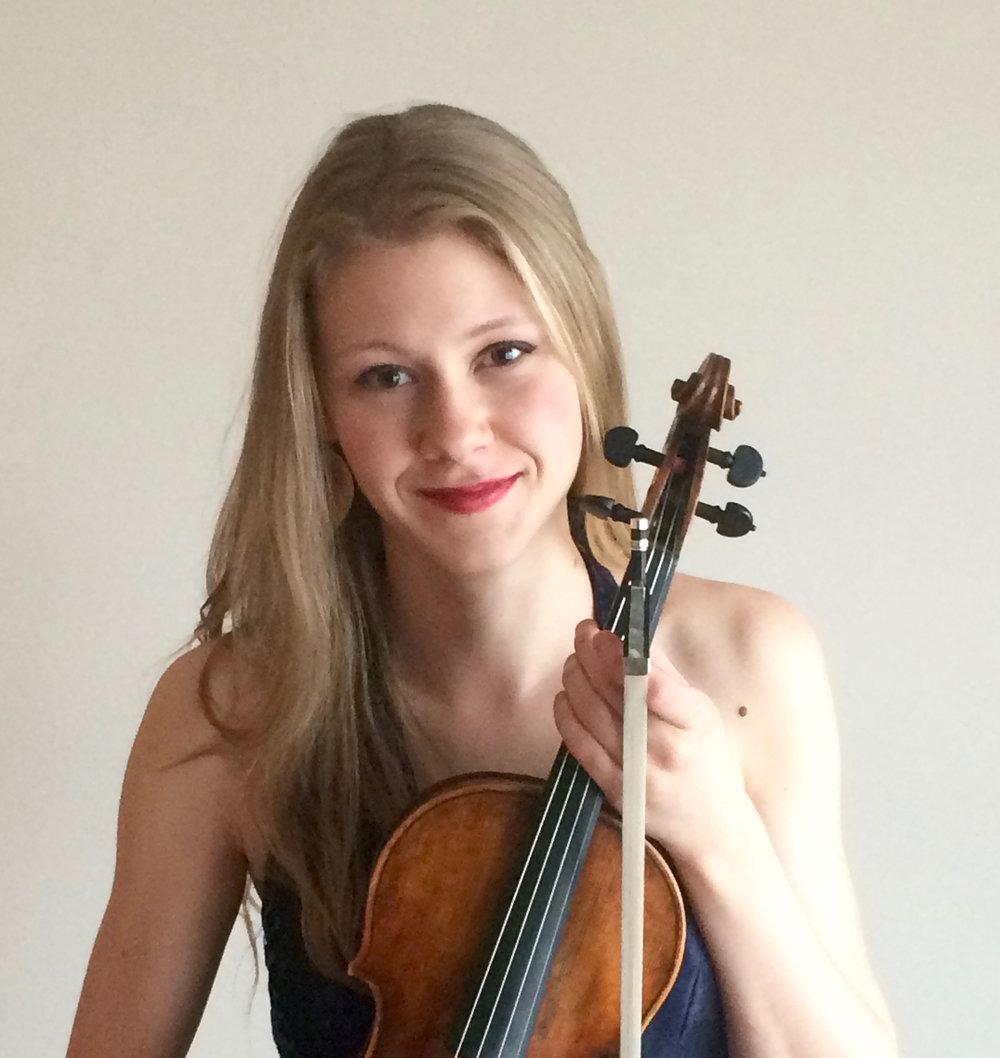 Rhiannon Banerdt - November 6: De Falla, Dvořák, Chopin-Kreisler