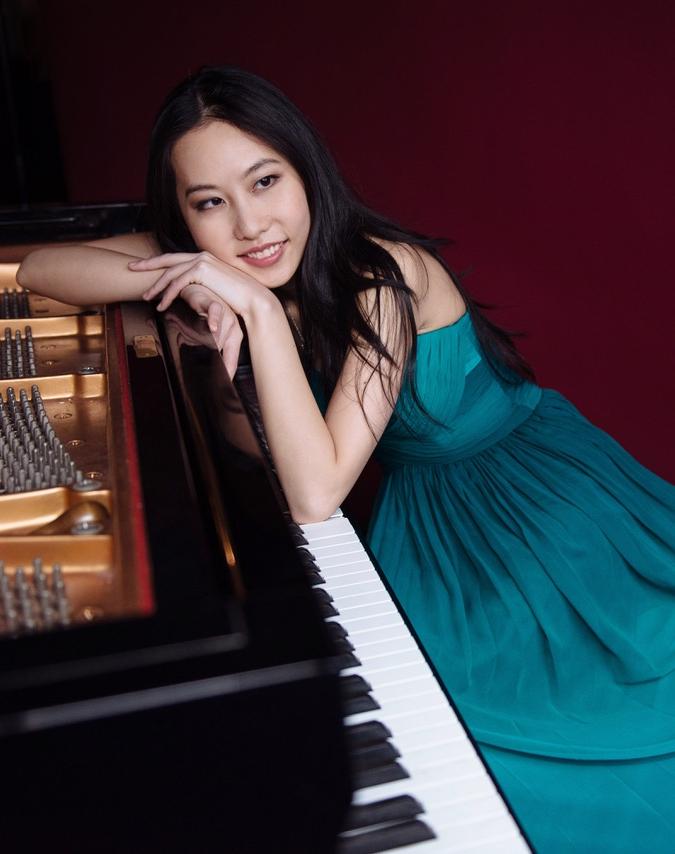BACH Italian Concerto, BWV 971Peng Lin, piano -
