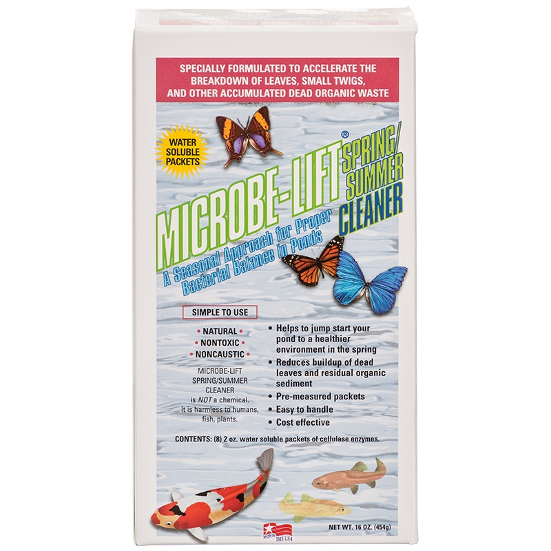 Microbe-Lift Spring/Summer:  $39.99