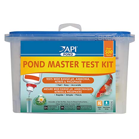 API Pond Master Liquid Test Kit:  $49.99