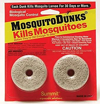 Mosquito Dunks 2pk: $9.99