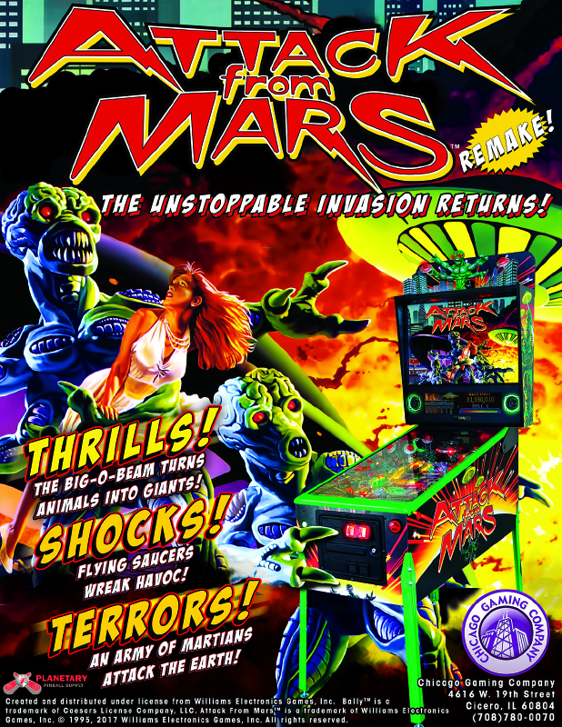 Attack From Mars Remake