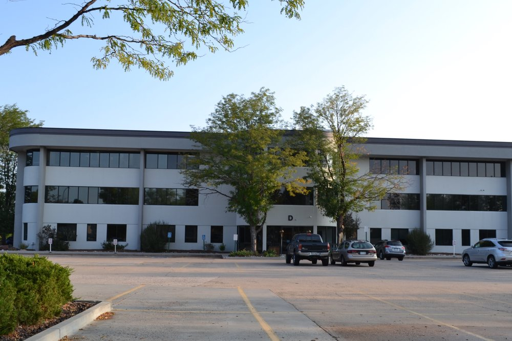 Our building- we are located on the third floor facing southwest.