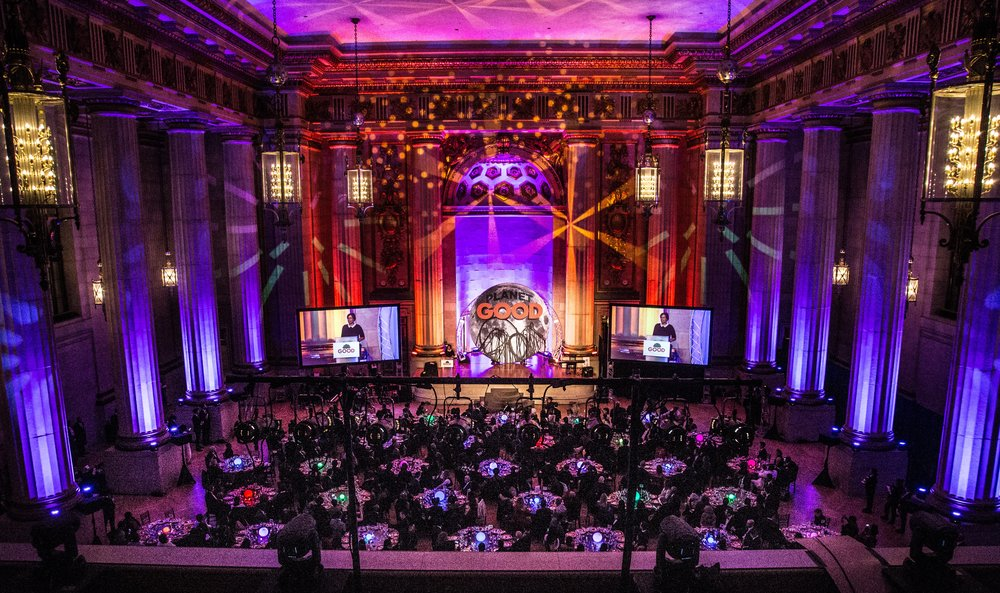 500 GUEST FILLED THE HALLS OF THE HISTORIC MELLON AUDITORIUM
