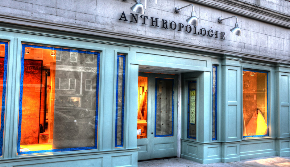 Anthropologie  : Big Brand, Personal Style
