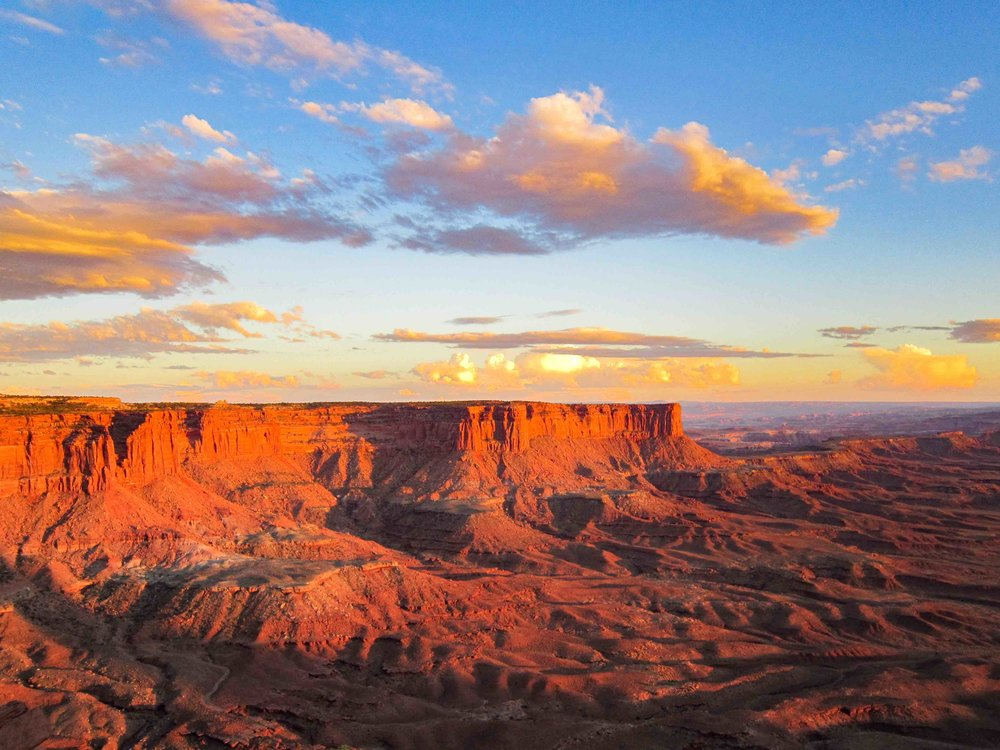Canyonland Sunset