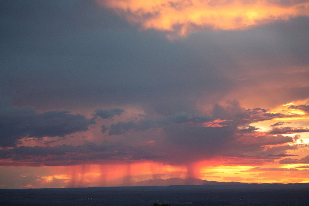 Evening Rain Clouds