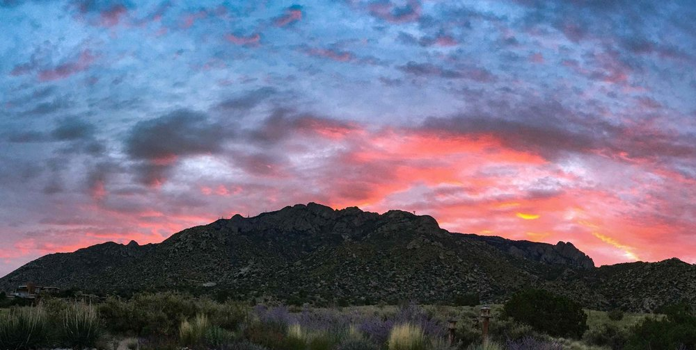 Sandia Mountain Sunrise