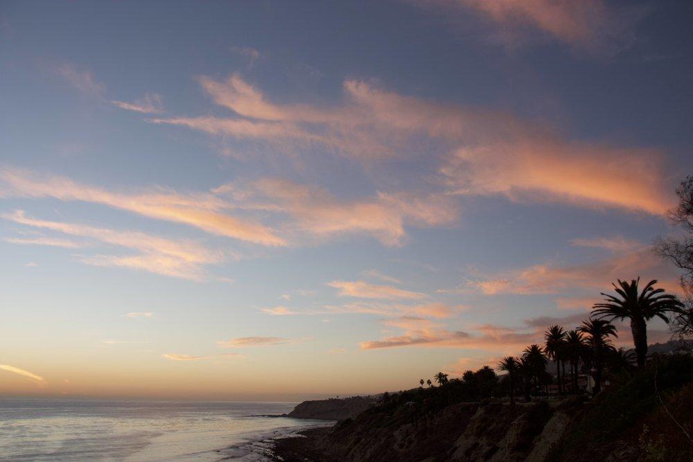 Pacific Coast Sunset