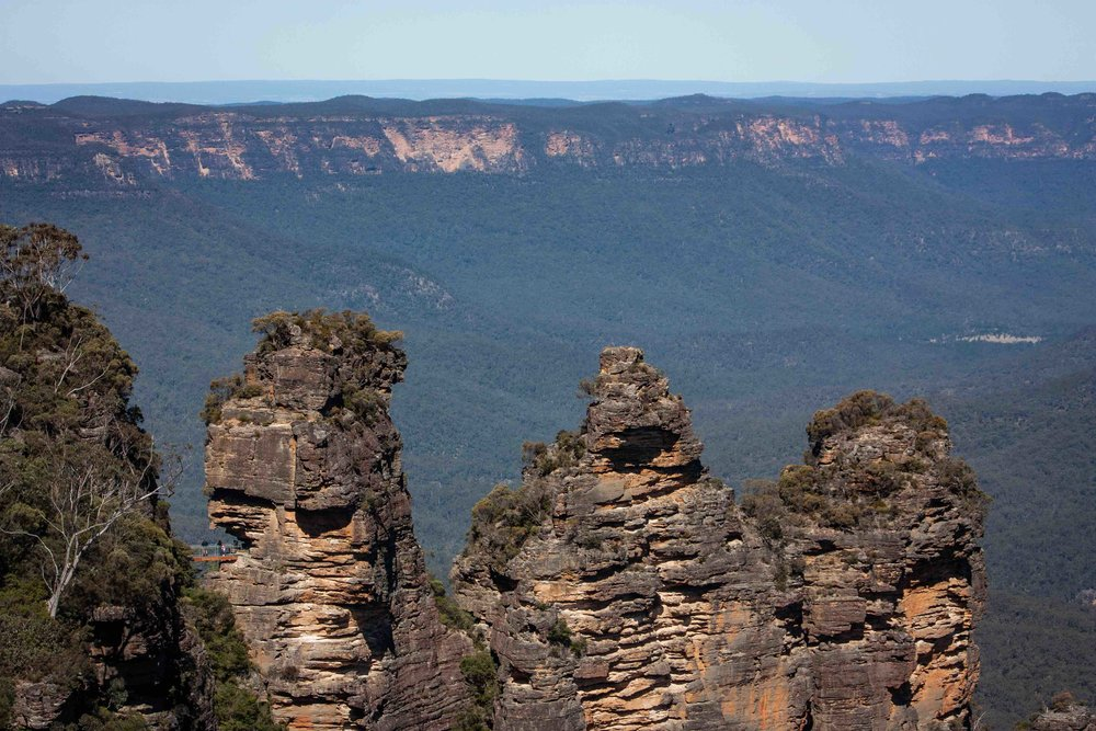Blue Mountains Three Sisters Rock Formation, Australia