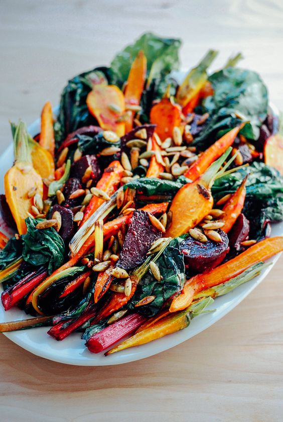 This salad is to die for. It's literally SO good! Plus, if you're a fan of leftovers the beet and carrot part of the salad will hold up beautifully after a day or two.