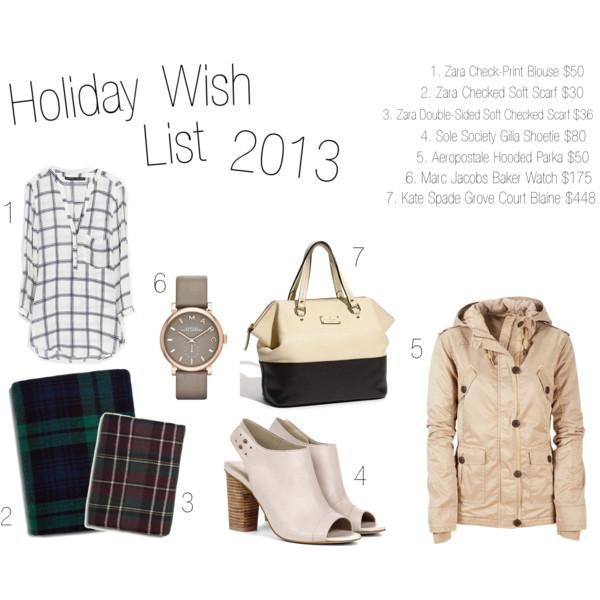 Holiday Wish List 2013