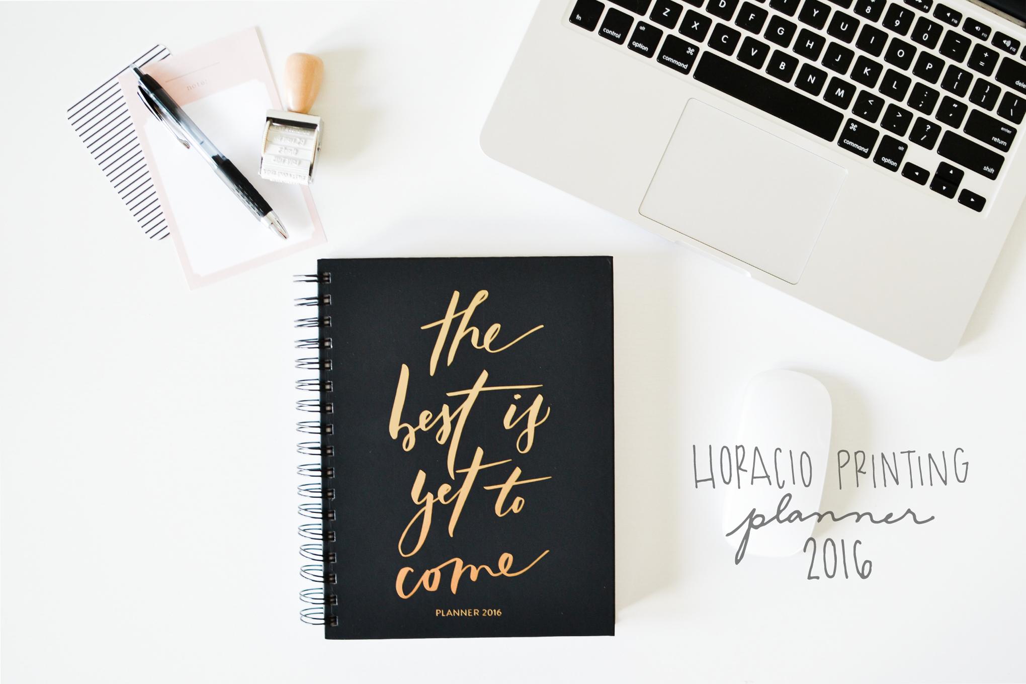Horacio Printing Planner 2016 - Noodoso