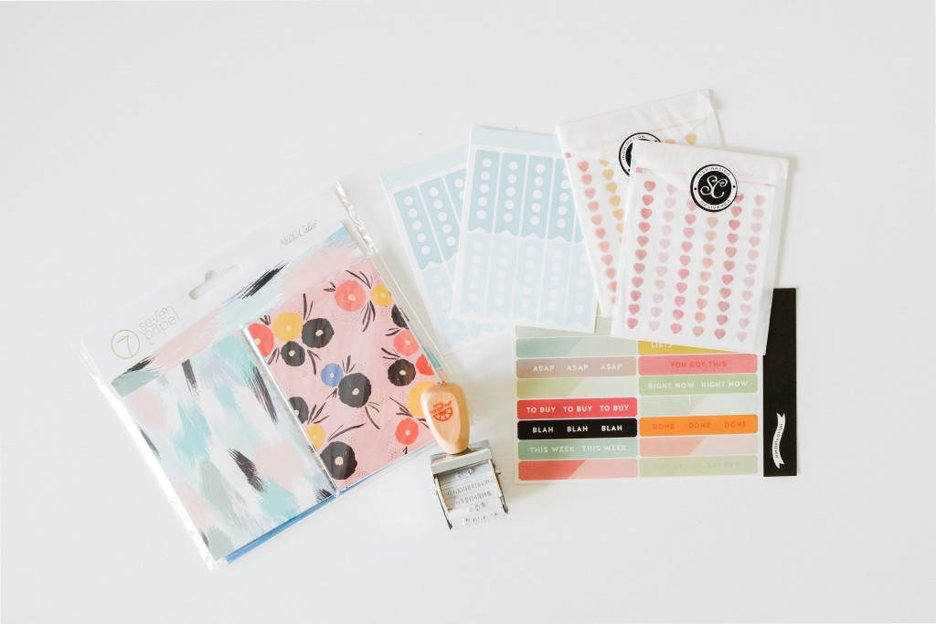 Studio Calico Savannah Planner Kit February 2016 - Noodoso