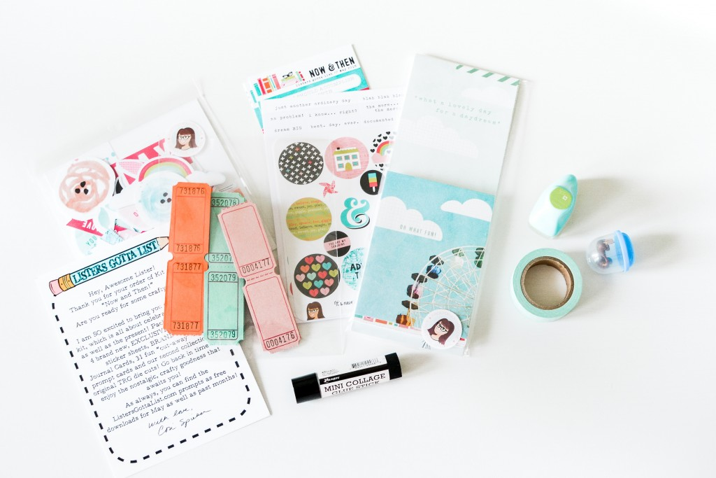 The Reset Girl Listers Gotta List Then & Now May Kit - Noodoso