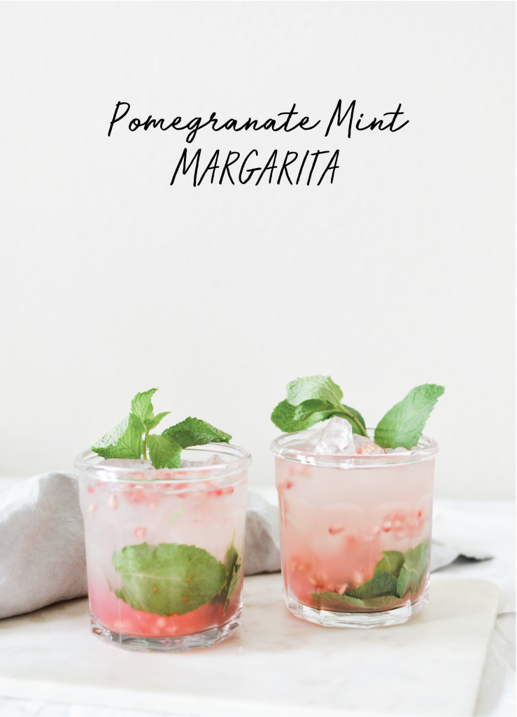 Pomegranate Mint Margarita - Noodoso