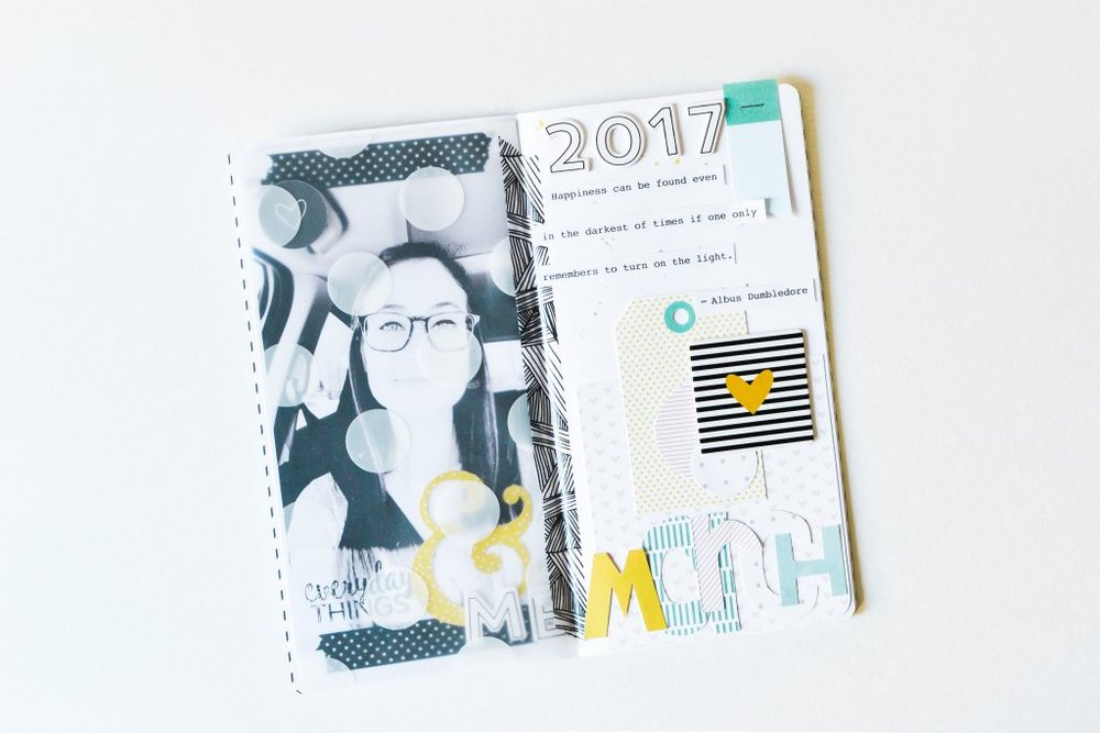 March Art Journal Page by Suzanna Stein - Noodoso