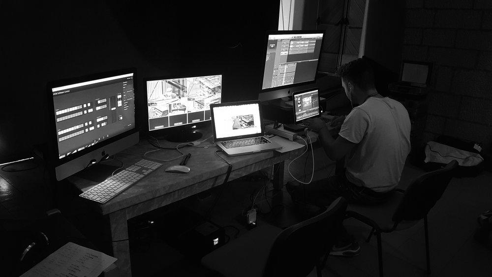 Teatro Concordia - il Sound Engineer Manuel Destro di 2R Studio Produzioni Multimediali al Concorso Pianistico Internazionale di San Benedetto del Tronto 2018