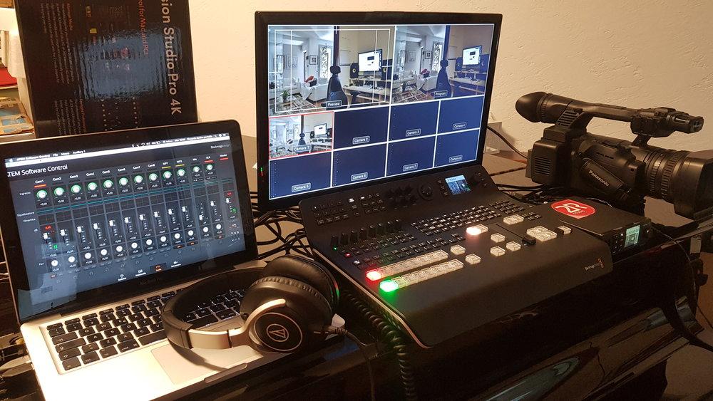 Nuova regia video - La 2R Studio Produzioni Multimediali si dota di una nuova regia video della Balckmagic - Television Studio Pro 4K. Un gioiellino di tecnologia