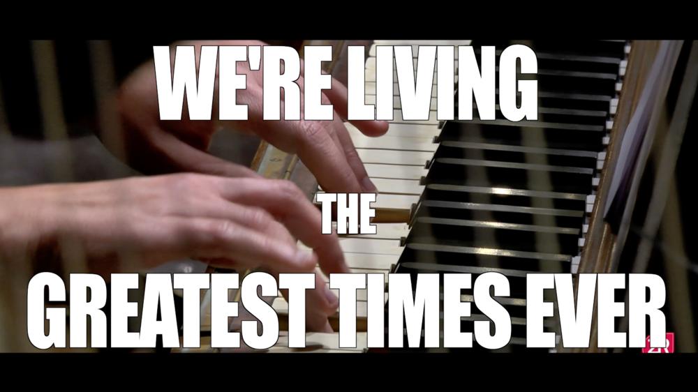 """""""we're living the greatest times ever"""" - Nuovo video promozionale della 2R Studio Produzioni Multimediali, potete vederlo cliccando sulla foto"""