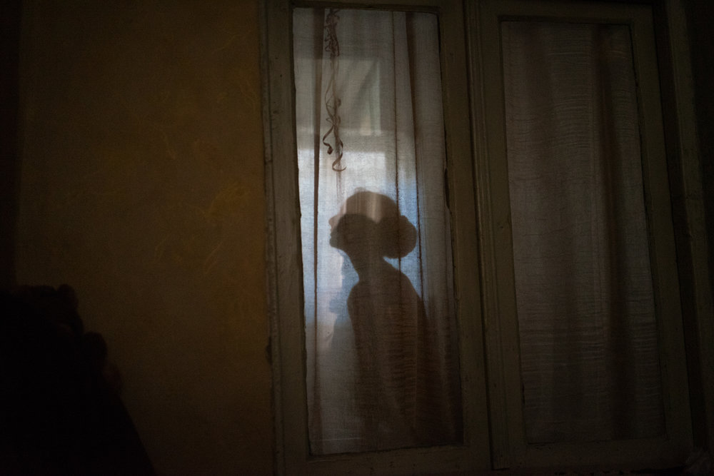 While exploring Tbilisi and Baku I spent the night at the homes of different families. I was interested in capturing the fragility of these young humans. Fleeting figures who are still trying to position themselves somewhere.  The images represent a search for intimacy. A search for belonging in unfamiliar places.  Passenger 2016-2019