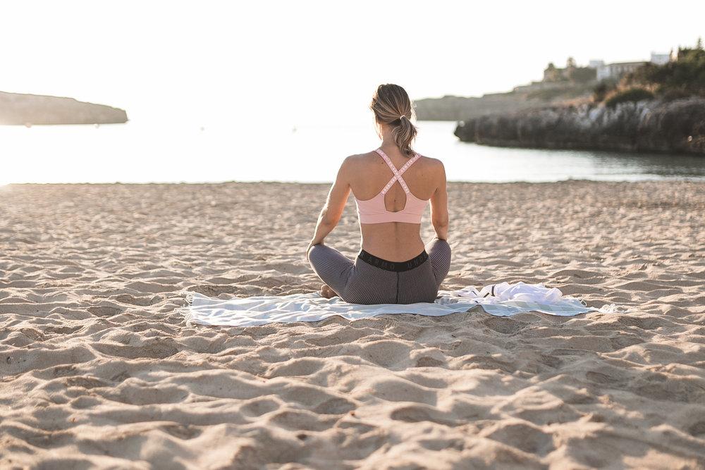 meditation and morning yoga