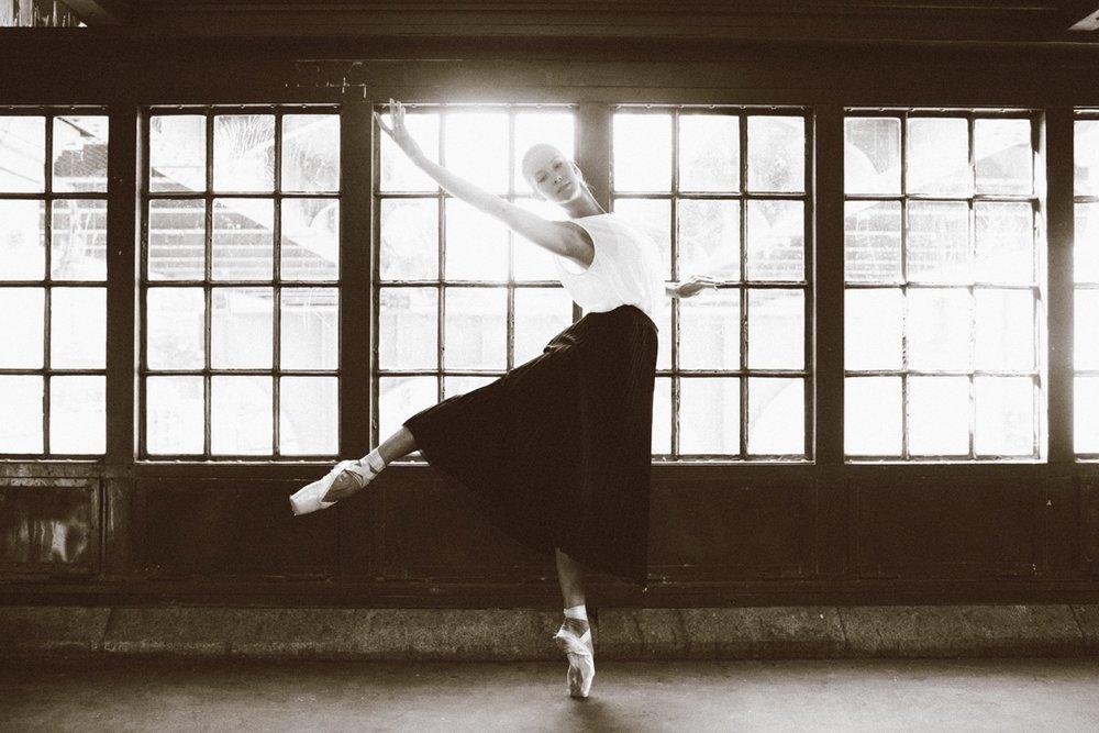 Ballerina Kori Nikkonen by Lisa Troyanovskaya