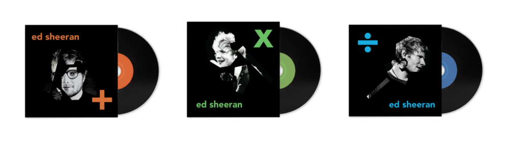 Album Cover design for Ed Sheeran (unofficial)