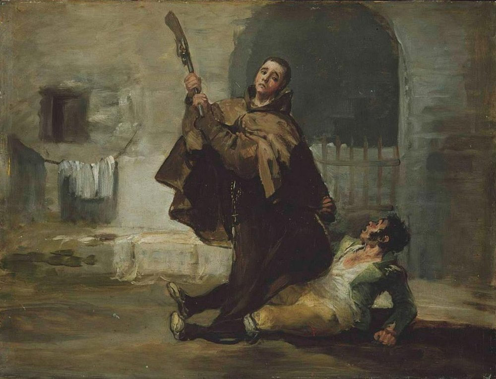 1024px-Francisco_de_Goya_-_Friar_Pedro_Clubs_El_Maragato_with_the_Butt_of_the_Gun.jpg