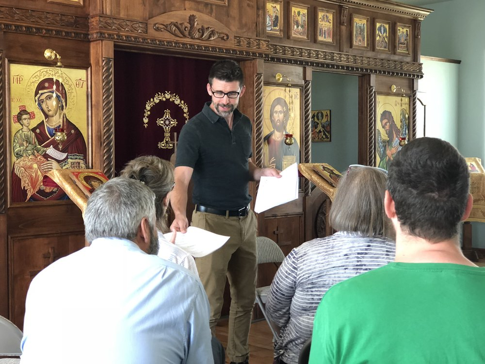 Orthodox Choral Workshop
