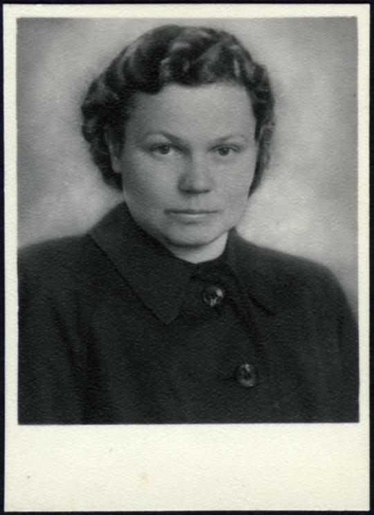 Identity card, worker at the Tērvete Sanatorium, 1943