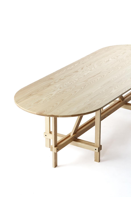 Arch Table Braced Frame