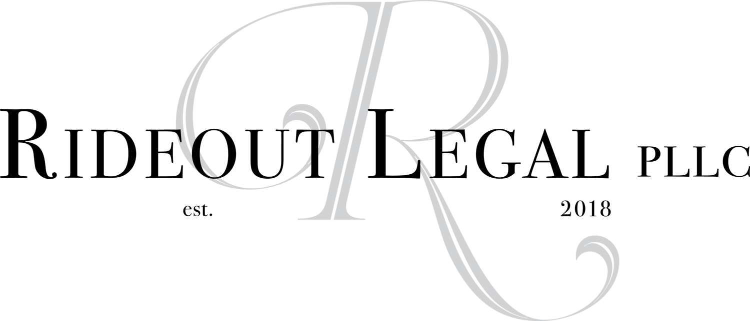 Rideout Legal's Company logo