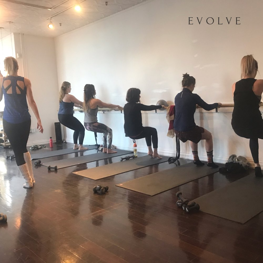 barre class is for everyone!