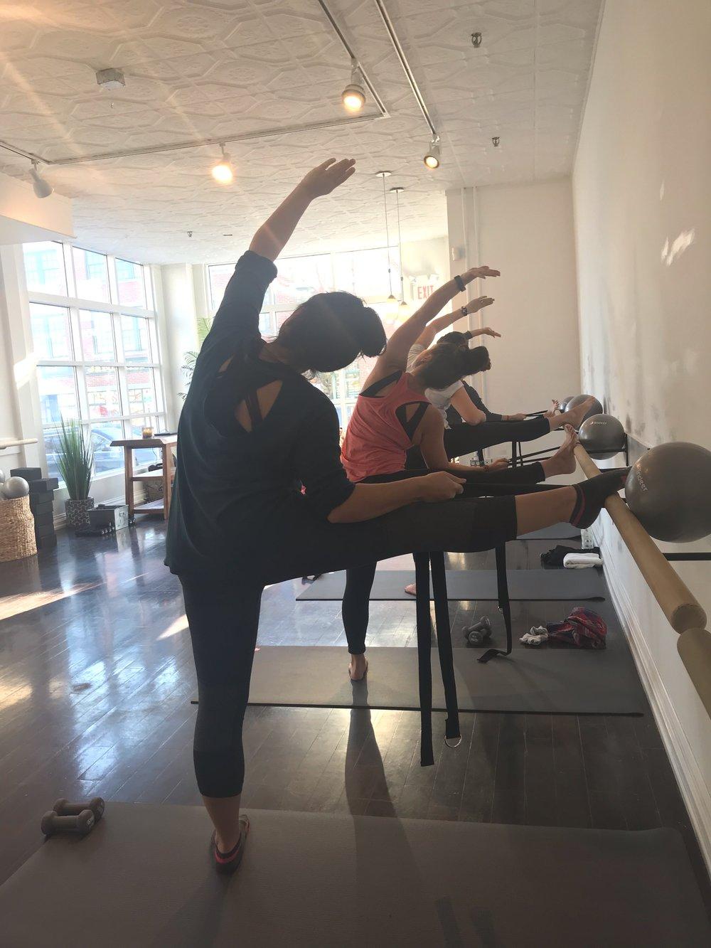 ttrengthen, stretch & lengthen