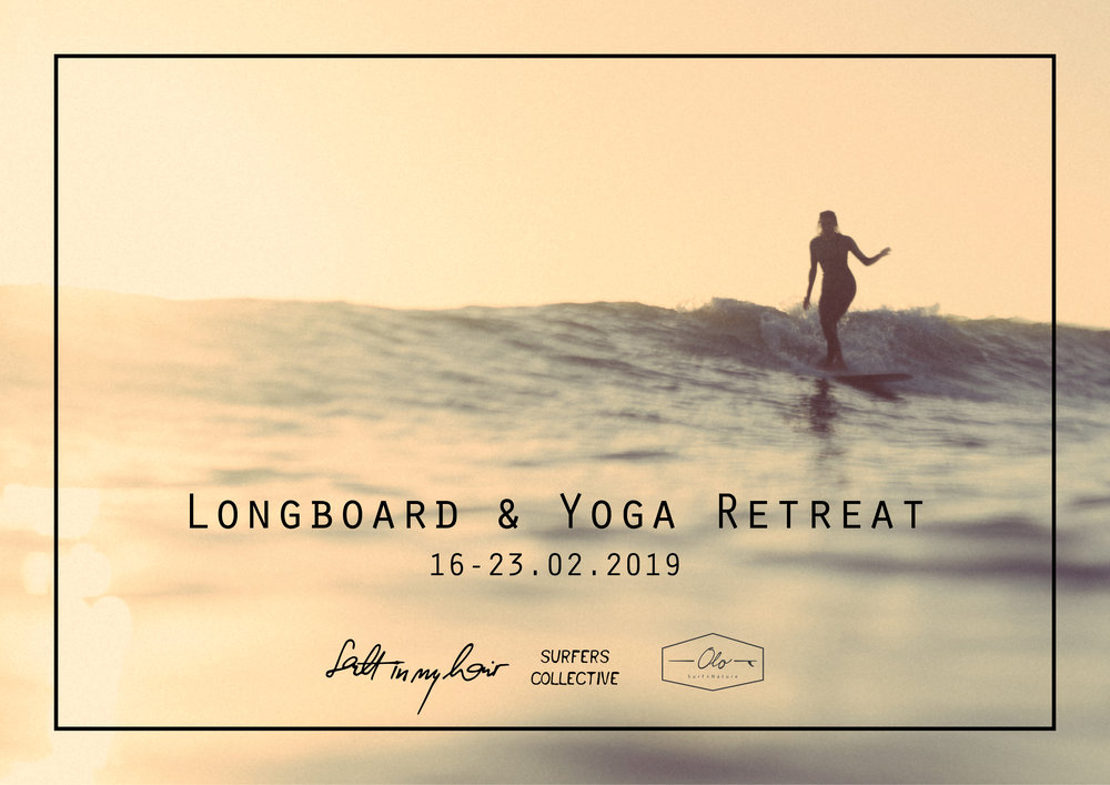 Longboard & Yoga Retreat - February 16 - 23, 2019*For more information, inquire below