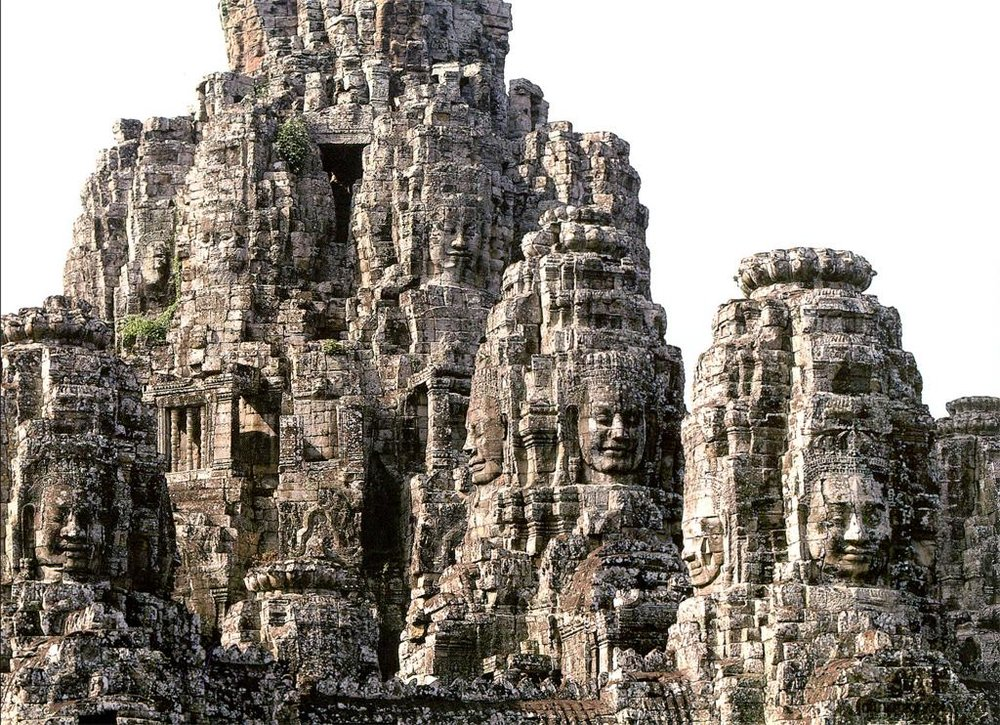 Bayon, Angkor Thom, late 12th-early 13th century, Siem Reap, Cambodia