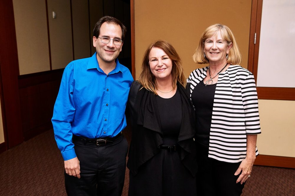 Vicki Schultz with Ann McGinley and Ruben J. Garcia, Co-Directors of the Workplace Law Program at UNLV