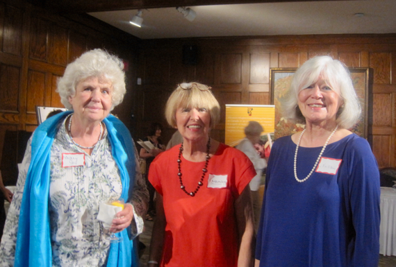 Rosemary & Susan with Mary Jo Leddy, founder of Romero House