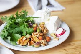 """- No Persian table would be complete without """"nan-o-panir"""" and """"sabzi-khordan"""" which are quite simply bread and feta cheese with fresh herbs. These side dishes are called """"mokhallafat"""". According to your taste, you could choose one of the following sides."""