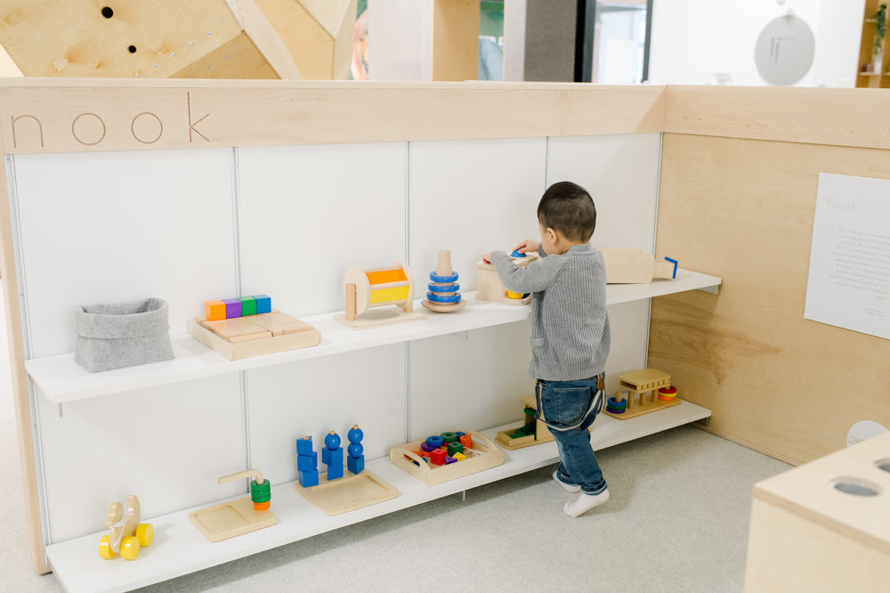 4. Research & Development - Learning from customers and end-users is critical to product development, as well as developing a market strategy. Nook's play spaces are a natural environment for R&D and play testing.
