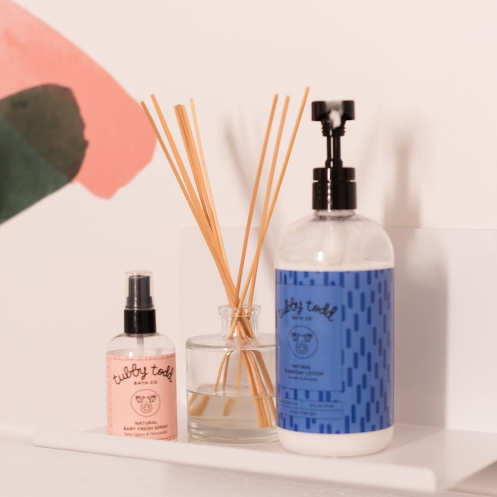 Discover Tubby Todd - Check out their Baby Fresh Spray and Everyday Lotion in our family restrooms at Nook Ballston Quarter