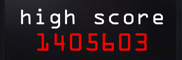 high score screen