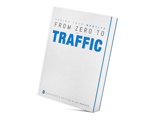 From Zero to Traffic - My first book is titled From Zero to Traffic, and it helps website owners go from nothing to something. It helps people bypass the mistakes I've made in my 15+ years in the field. It provides the knowledge you'll need to make a better website, faster, and with less frustration. Since you read this far, click here to take 50% off.