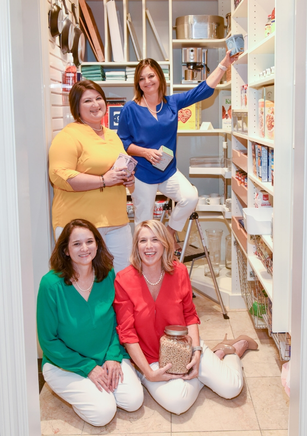 Inspired Closets Baton Rouge Chaos Organizing Team in Pantry.JPG