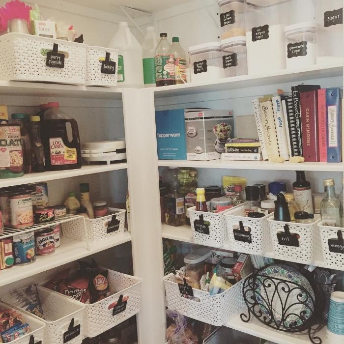 Chaos Organizing Pantry