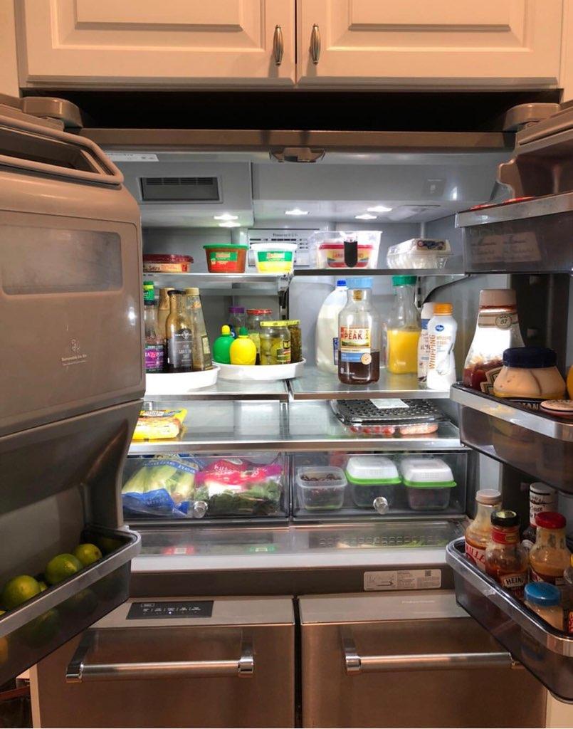 Chaos Organizing Refrigerator Organization
