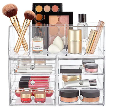 InterDesign Clarity Makeup Storage Kit