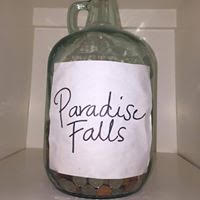 """If you're a fan of the movie """"Up!"""" keep your vacation change in a fun jar. No more throwing loose change in a random drawer!"""