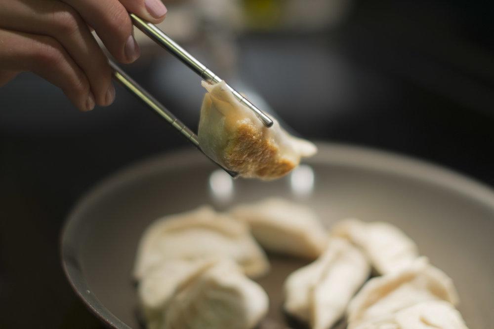 Pan Fried Pork Gyoza
